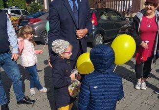 OGÓLNOPOLSKI DZIEŃ PRZEDSZKOLAKA – Z wizytą u Pana Burmistrza