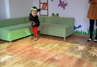 Zabawy na magicznym dywanie.